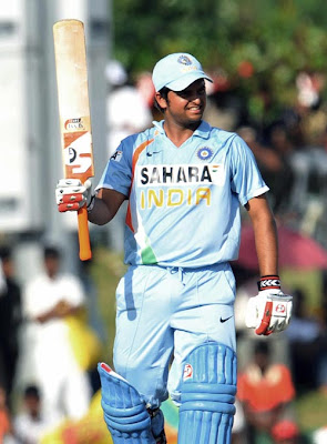 Suresh Raina after half-century,India