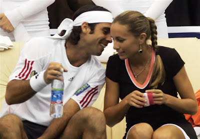 Gisela Dulko and Fernando Gonzalez