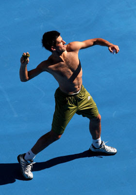 Tennis top # 3 Noavak Djokovic