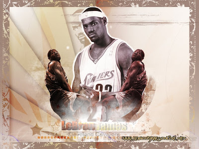 LeBron James All-Star 2009 Dunk Wallpaper