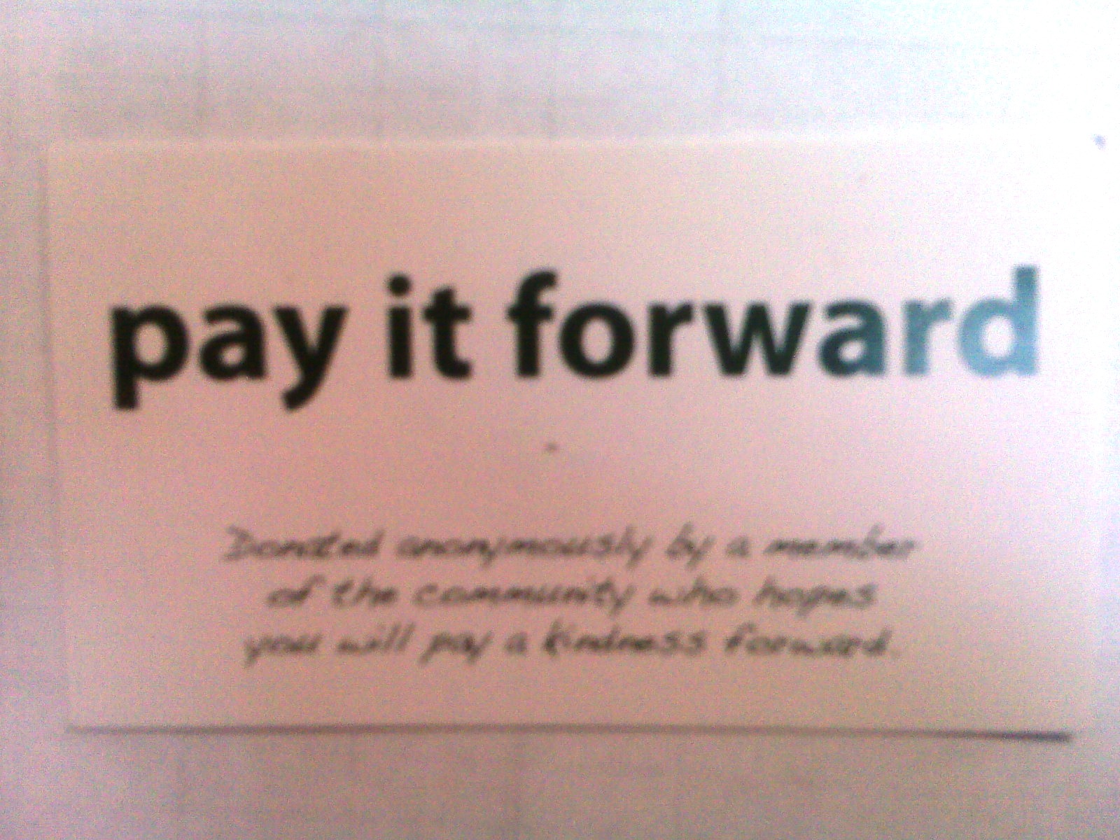 Pay It Forward Quotes Purple Passage Boutique Pay It Forward.