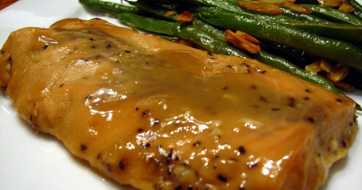 Lynda's Recipe Box: Honey-Mustard Glazed Salmon
