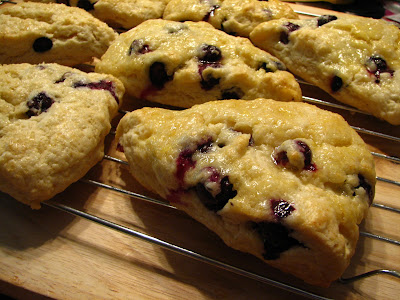 Lyndas recipe box blueberry scones with orange glaze slightly my daughter has been wanting me to make blueberry scones for awhile so i found a great sounding recipe from tyler florence at food network forumfinder Choice Image