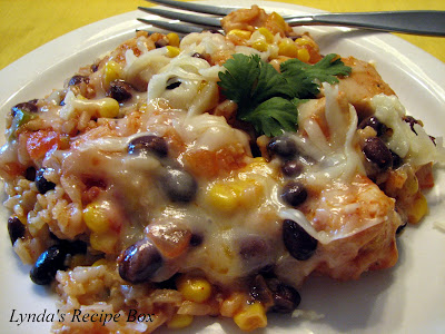 CHICKEN and RICE SKILLET DINNER in Cowboy Southwest Tex Mex & Ranch ...