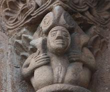 Capitel erótico Cervatos