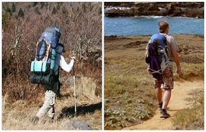 Comparação de mochilas