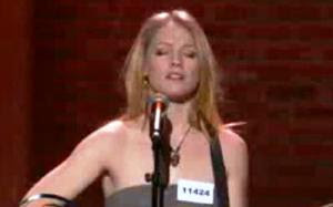 Didi Benami Sing Terrified Kara  and Jason Songs,American Idol Season 9 audition Hollywood
