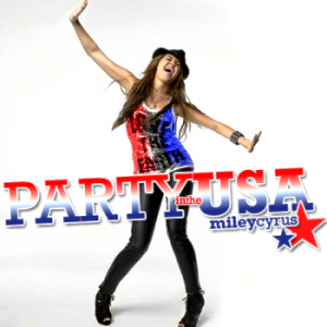 Miley Cyrus  on Miley Cyrus Party In The Usa Mp3 Lyrics   Music Download   Zimbio