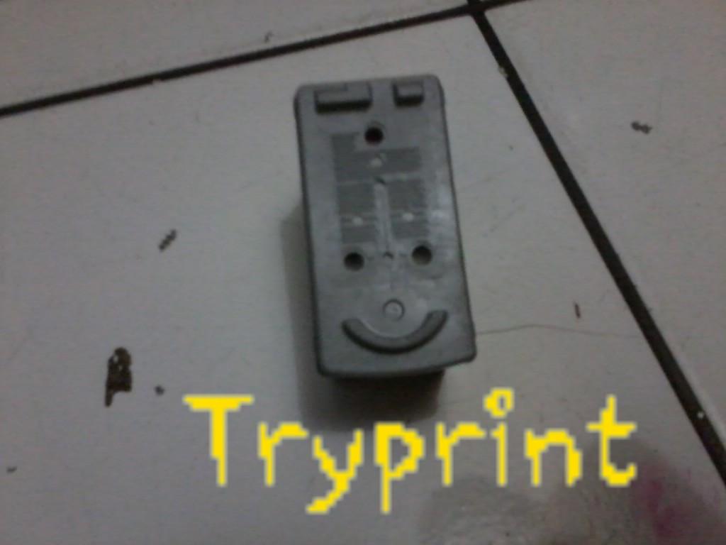 Tryprint Cara Pasang Infus Canon Ip 1300 Tinta 831 4sekarang Giliran Cartridge Yang Berwarnabisa Cl 41cl 831pada Warna Terdapat Tiga Lubang Anginperbesar Ketiga Tersebut Dengan Bor 3