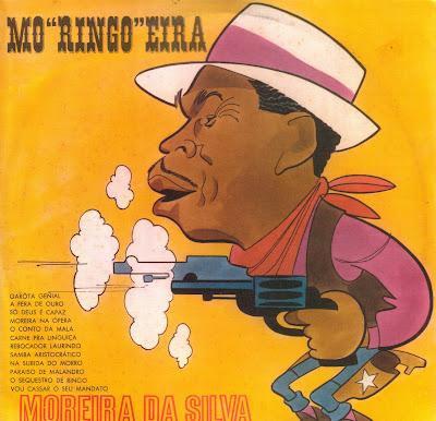 """Cover Album of Moreira da Silva - Mo""""Ringo""""Eira (1970)"""