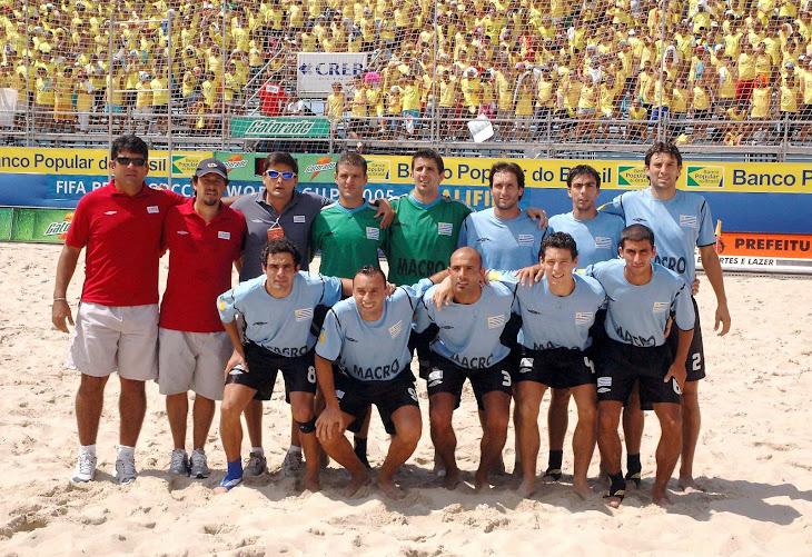 ELIMINATORIAS SULAMERICANAS PARA 1ª COPA DO MUNDO FIFA DE BEACH SOCCER REALIZADA EM 2005