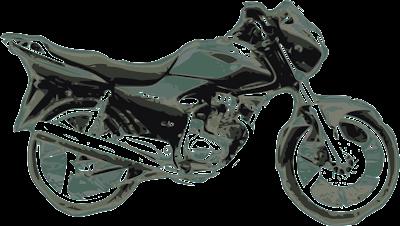 Honda Storm con las tonalidades del campo sierrabayense