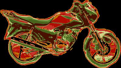 Honda Storm con las tonalidades de la imagen