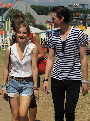 Emma Watson In Shorts