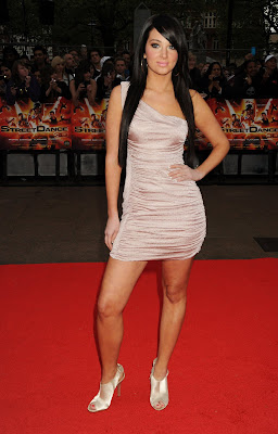 Tulisa In A Tight Minidress