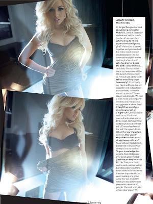 Jorgie Porter Lingerie Photoshoot