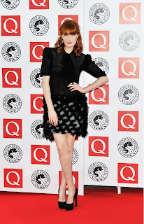 Florence Welch at the Q Awards