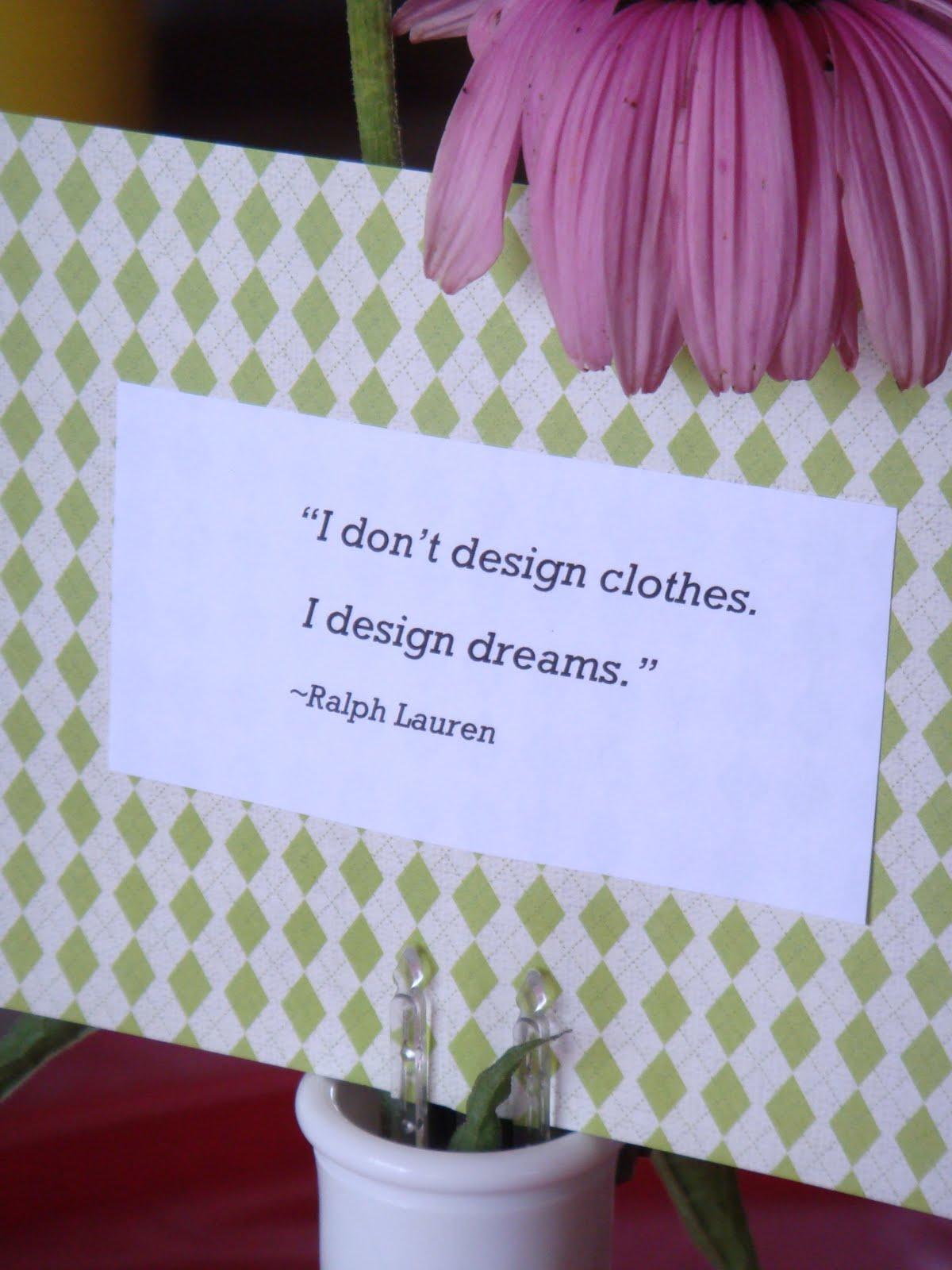 Famous Fashion Designer Quotes
