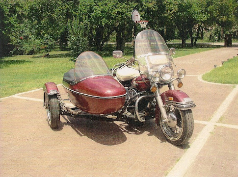 Gary&#39;s 1975 Harley FLH Electra Glide