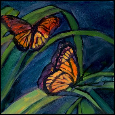 Famous butterfly paintings - photo#14