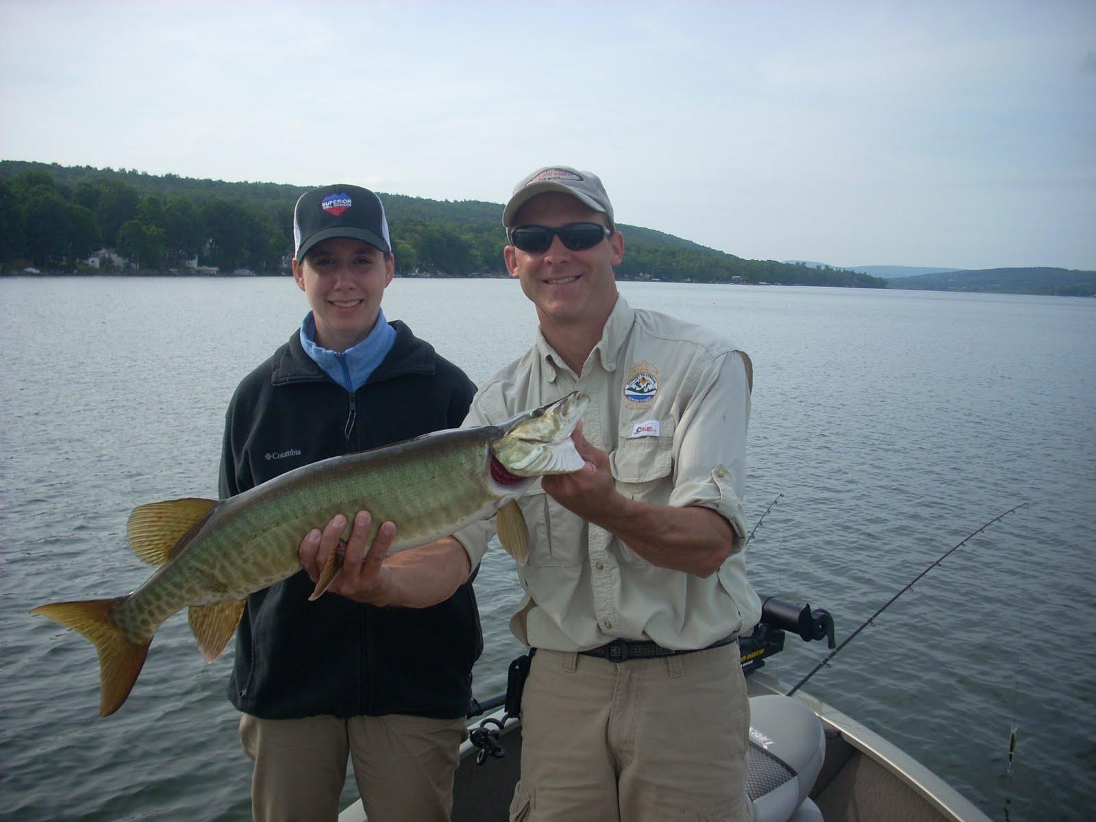 Waneta lake musky for Lake elizabeth fishing