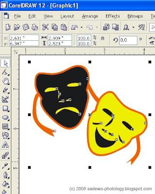 gambar cara mengolah gambar Corel dengan Photoshop 2