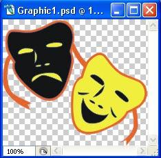 gambar cara mengolah gambar Corel dengan Photoshop 6