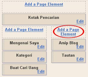 tutorial pasang widget alexa 4