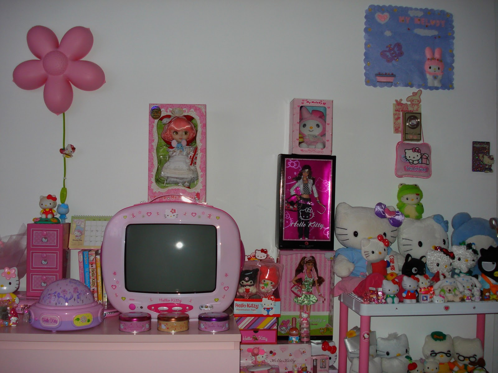 My Pink Hello Kitty World: Pink Hello Kitty Room
