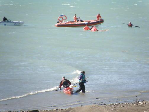 Comenzo con exito el Curso Basico de Kayak