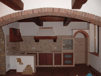 Cucina provenzale   piastrelle cucine   cucina in muratura ...