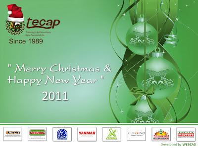 Cartão de Natal 02 - Tecap