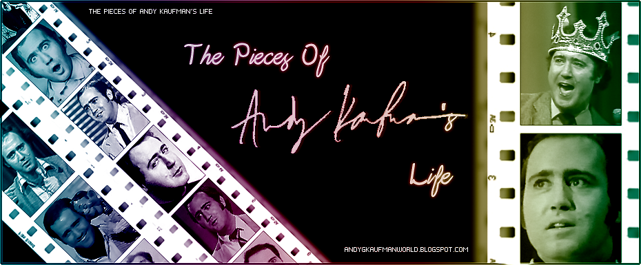 the Pieces Of Andy Kaufman's life