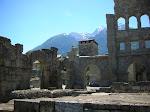 Roman Theatre - Aoste, Italy
