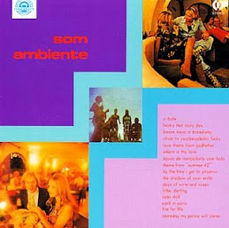 LP 'Som Ambiente' for Itamaraty/CID, 1972.