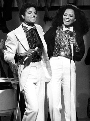 DIANA ROSS Ross first got a glimpse of Jackson's talent when she watched him