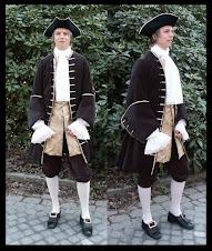 Herrkostym 1700-tal