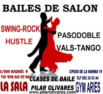 Bailas pilar olivares clases de bailes de sal n m laga for Academias de bailes de salon en madrid