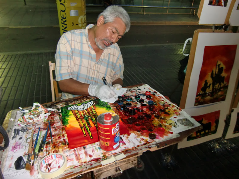 Yupanky, artista peruano
