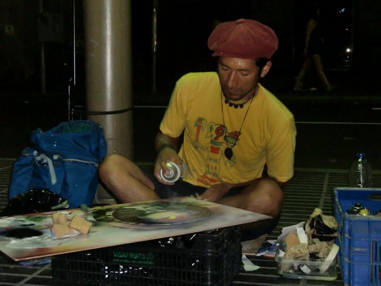artista urbano de Ecuador