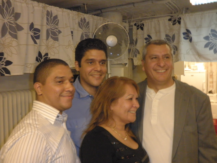 María Staforelli y mis hermanos