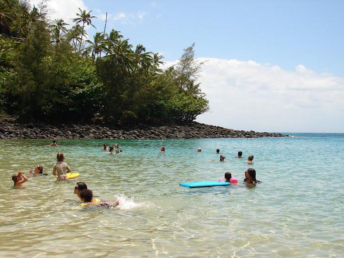 Beach time in Kauai