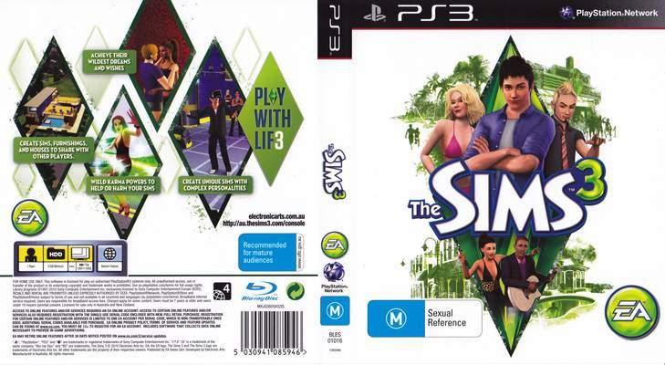sims 3 playstation 3
