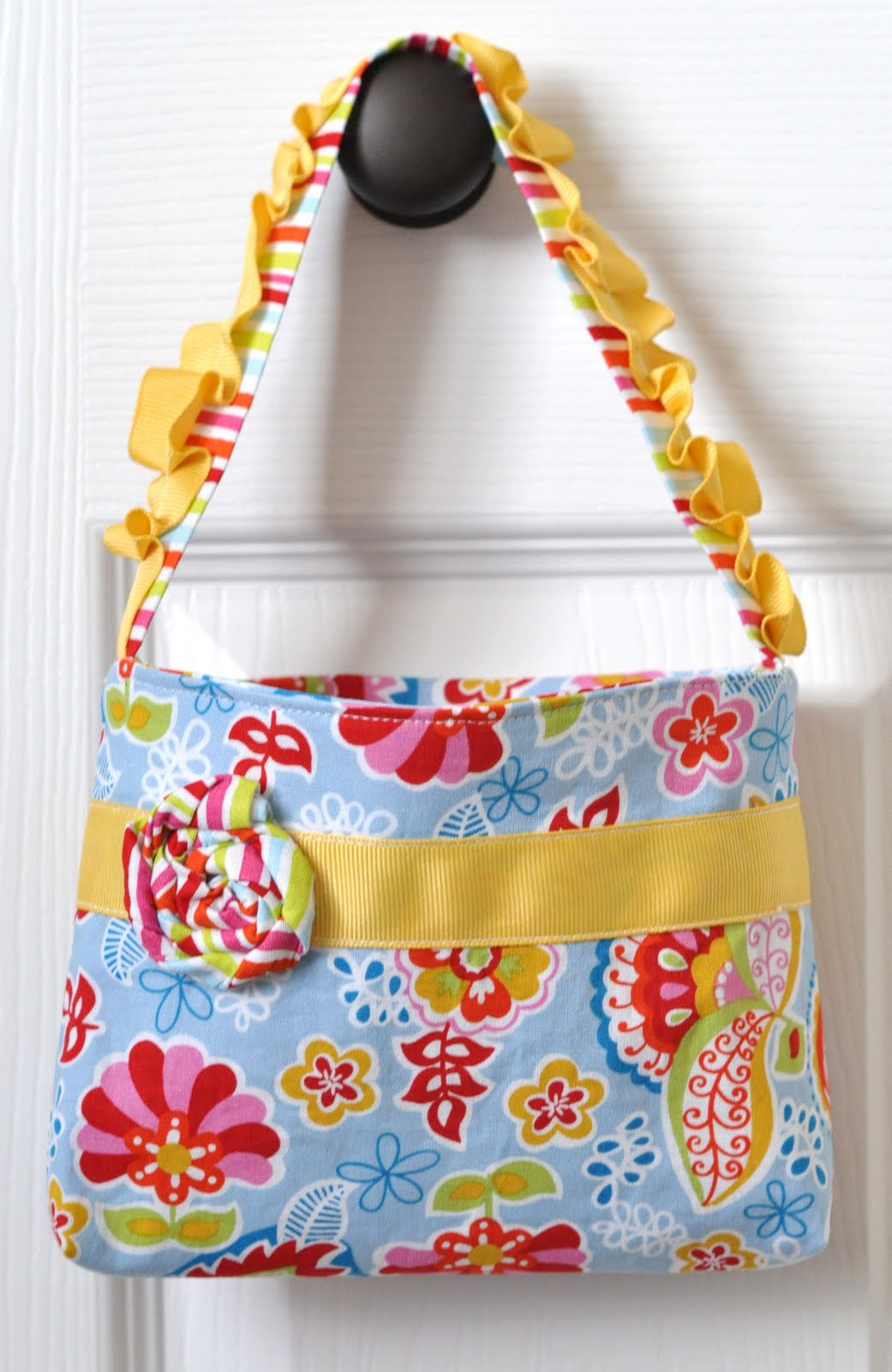 If i can do it you toddler purse tutorial