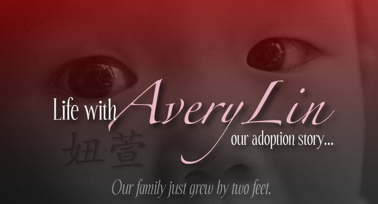Life with Avery Lin - Our adoption story