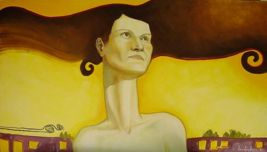 La Libertad (Mujer dándose amplitud)