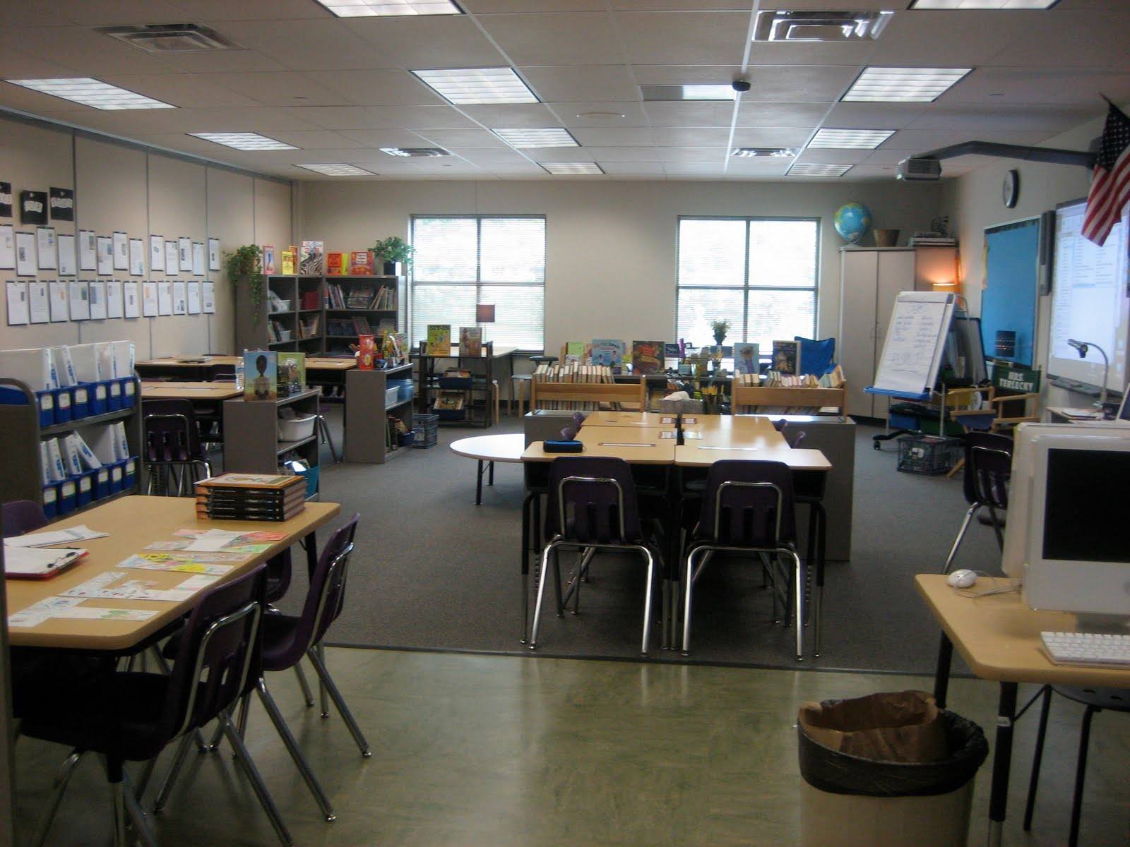 Classroom Setup Ideas For Middle School ~ Literate lives th grade classroom re design