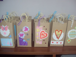 bolsa mini craf decorada
