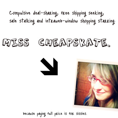 Miss Cheapskate