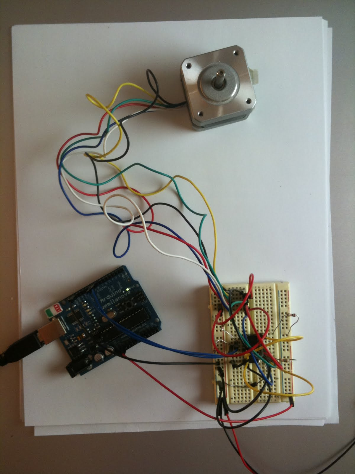 Atlas Contents Arduino Unipolar Stepper Motor Wiring
